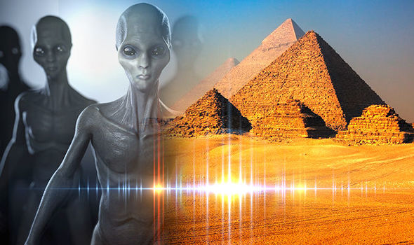 Image from https://www.express.co.uk/news/weird/940347/Time-travel-speed-of-light-prof-aliens-built-pyramids-UFO